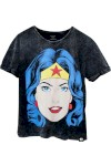 Blusa Bandup! Geek Dc Comics Wonder Woman Pop Culture Preto - Bandup - Geek