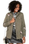 Jaqueta Parka Facinelli By Mooncity Bordados Verde - Facinelli By Mooncity