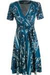 Vestido Chen - Azul - Le Lis Blanc