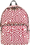 Geometric Print Backpack - Bally