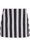 Saia Pala Diagonal Stripes - Preto E Branco - Bo.bô