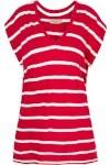 T-Shirt Minimal Listras Cori - Vermelha - Cori