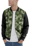 Jaqueta Bomber Chess Clothing Camuflado Verde Militar - Chess Clothing