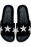 Slide Cosmic Black - Vinci Shoes