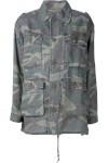 Jaqueta Militar Camuflada - Saint Laurent