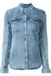 Camisa Jeans Com Bolso - Calvin Klein Jeans