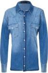 Camisa Feminina Oversized - Azul - Animale