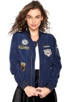 Jaqueta Bomber Holin Stone Patches Azul - Holin Stone