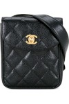 Quilted Cc Logo Bum Bag - Chanel Vintage