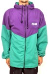 Jaqueta Corta Vento Dhg Clothing Esportivo Purple Green - Dhg Clothing