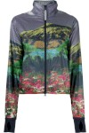 Run Mountain Print Jacket - Adidas By Stella Mccartney
