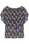 Camiseta Feminina Cropped Coruxi - Azul - Farm