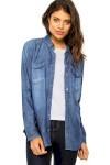 Camisa Calvin Klein Jeans Plano Azul - Calvin Klein Jeans