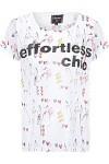 Camiseta Feminina Artsy - Branco - J.chermann